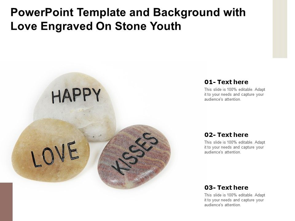 Powerpoint Template And Background With Love Engraved On Stone Youth Presentation Graphics Presentation Powerpoint Example Slide Templates
