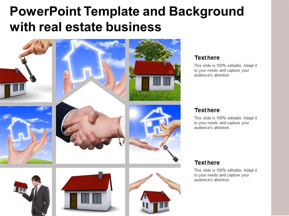 Powerpoint Template And Background With Real Estate Business Presentation Graphics Presentation Powerpoint Example Slide Templates