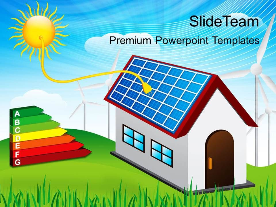 powerpoint templates for school solar energy business ppt slides, Powerpoint templates