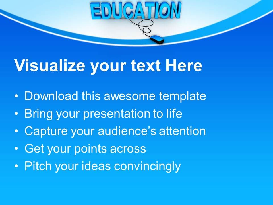 Powerpoint templates training online education chart ppt for Orientation powerpoint presentation template