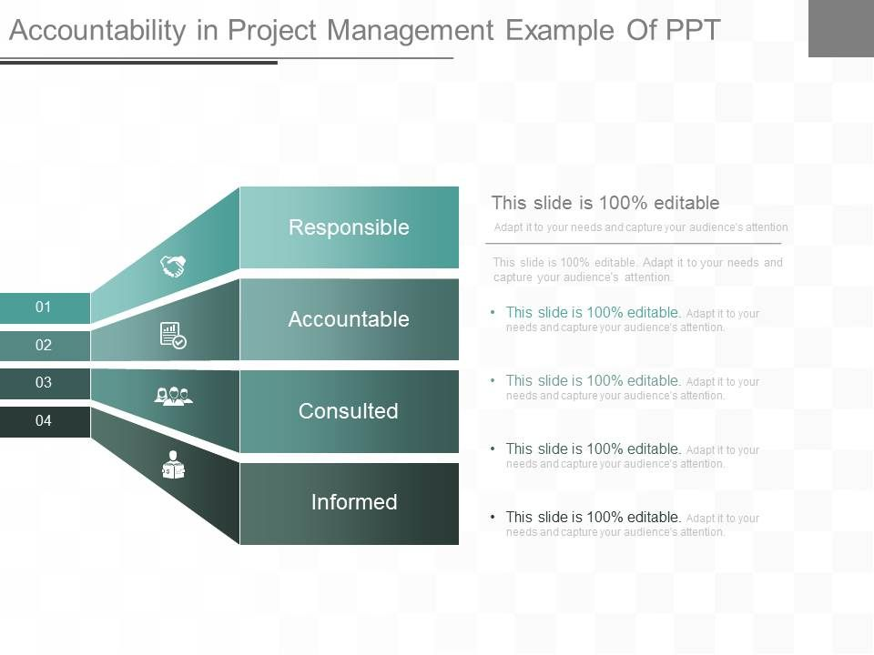ppt accountability in project management example of ppt templates