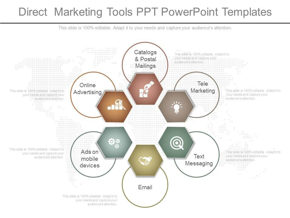 ppt_direct_marketing_tools_ppt_powerpoint_templates_Slide01