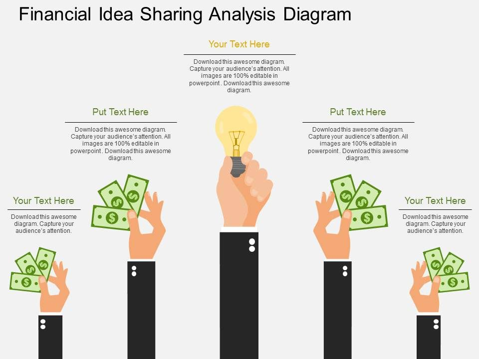 ppt_financial_idea_sharing_analysis_diagram_flat_powerpoint_design_Slide01