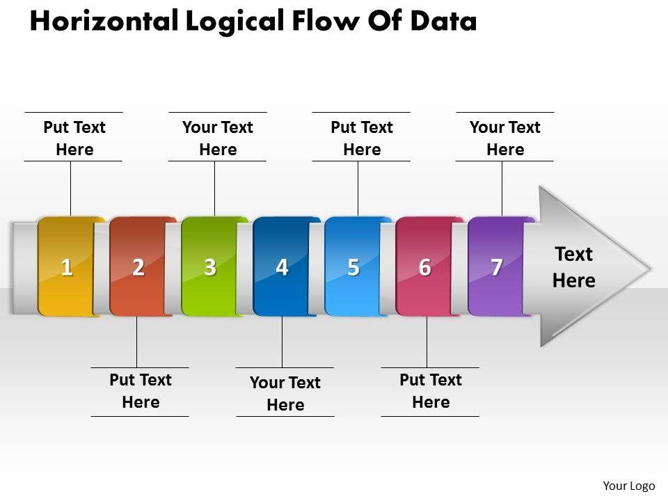 Ppt horizontal logical flow of edit chart data powerpoint 2007 ppthorizontallogicalflowofeditchartdatapowerpoint2007businesstemplates7stagesslide01 ccuart Gallery