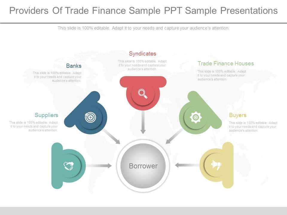 ppt providers of trade finance sample ppt sample presentations