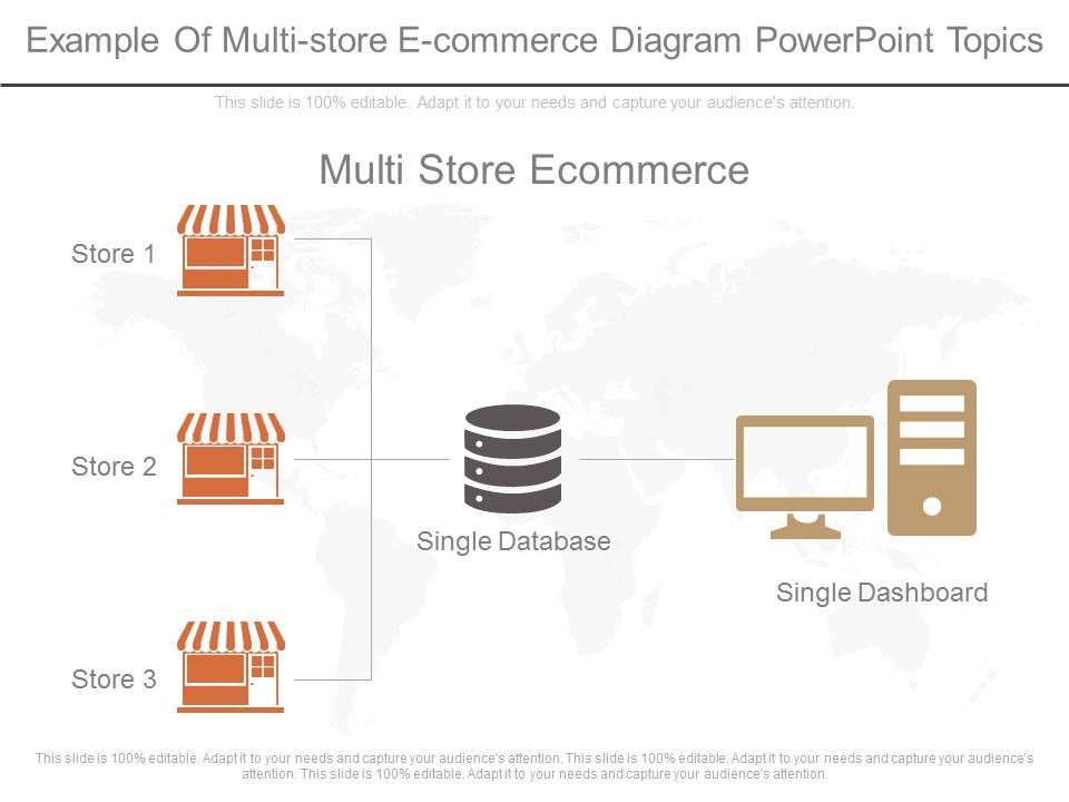 ppts_example_of_multi_store_e_commerce_diagram_powerpoint_topics_Slide01
