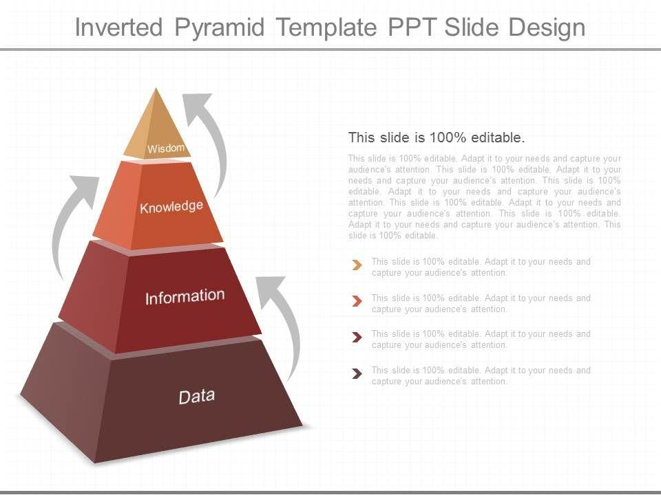 ppts inverted pyramid template ppt slide design presentation
