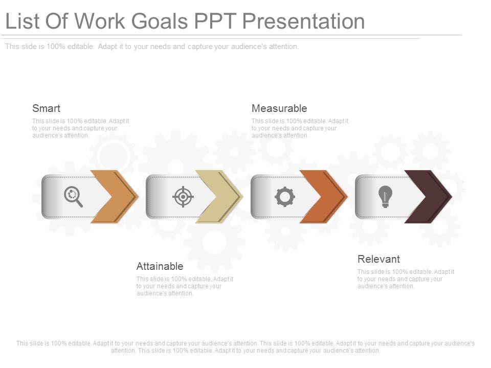 ppts_list_of_work_goals_ppt_presentation_Slide01