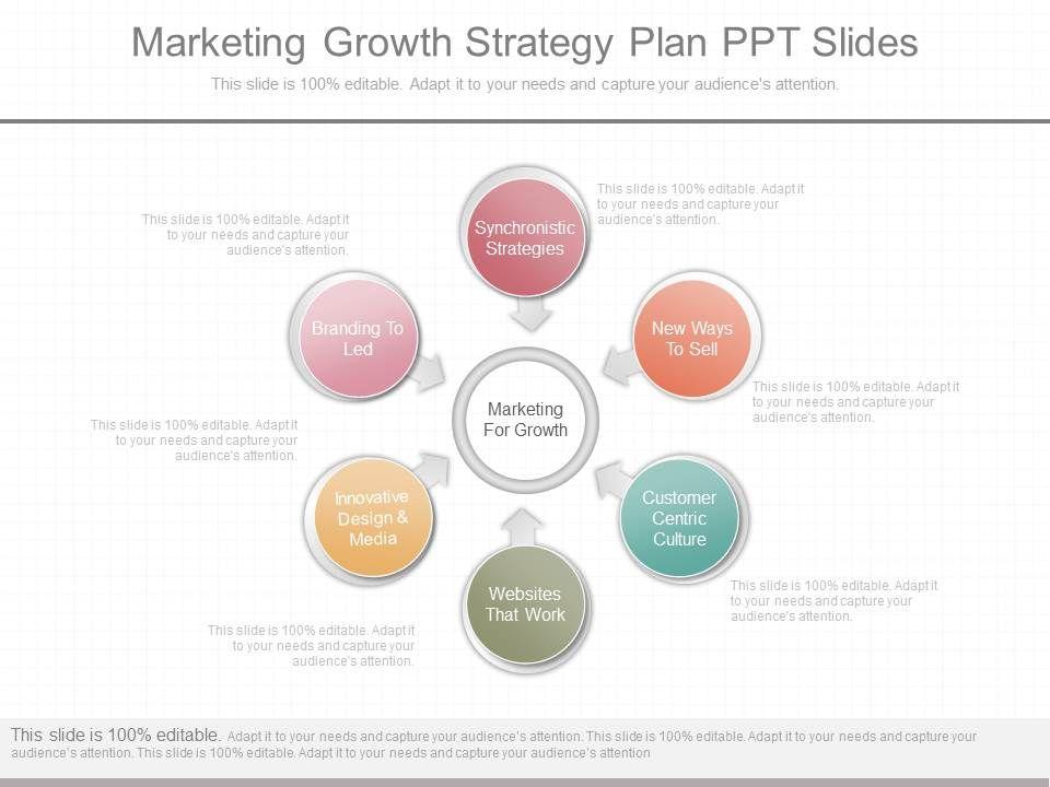 ppts marketing growth strategy plan ppt slides presentation