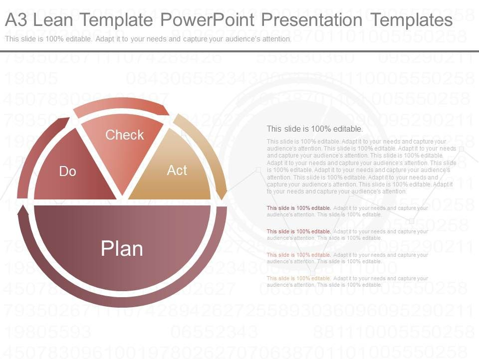 pptx a3 lean template powerpoint presentation templates, Modern powerpoint