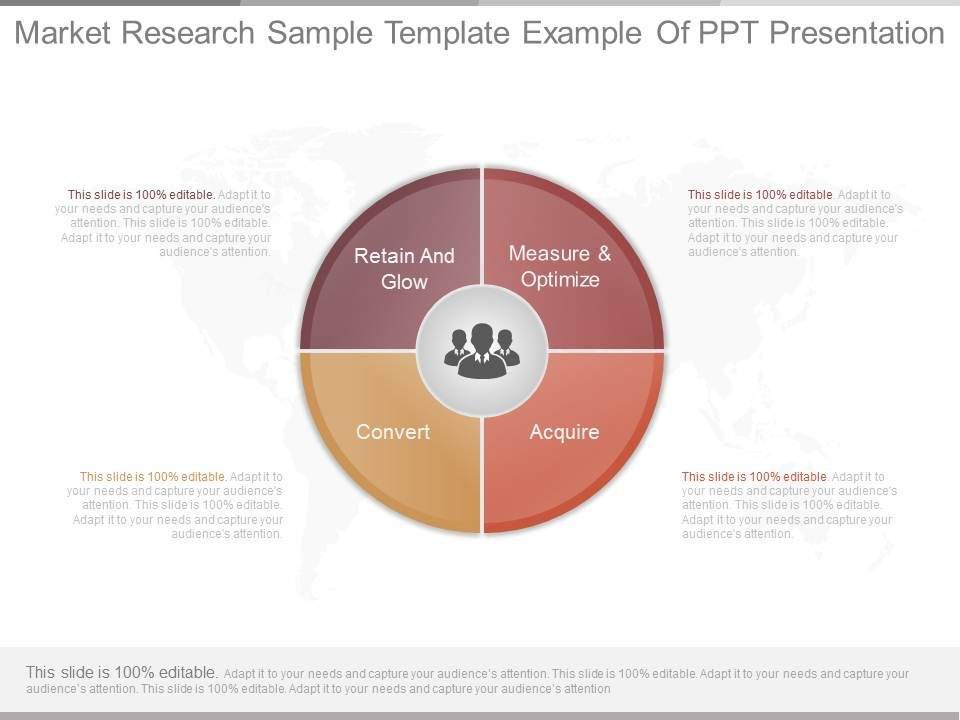 Awesome Sales Presentation showing Pptx Market Research Sample ...