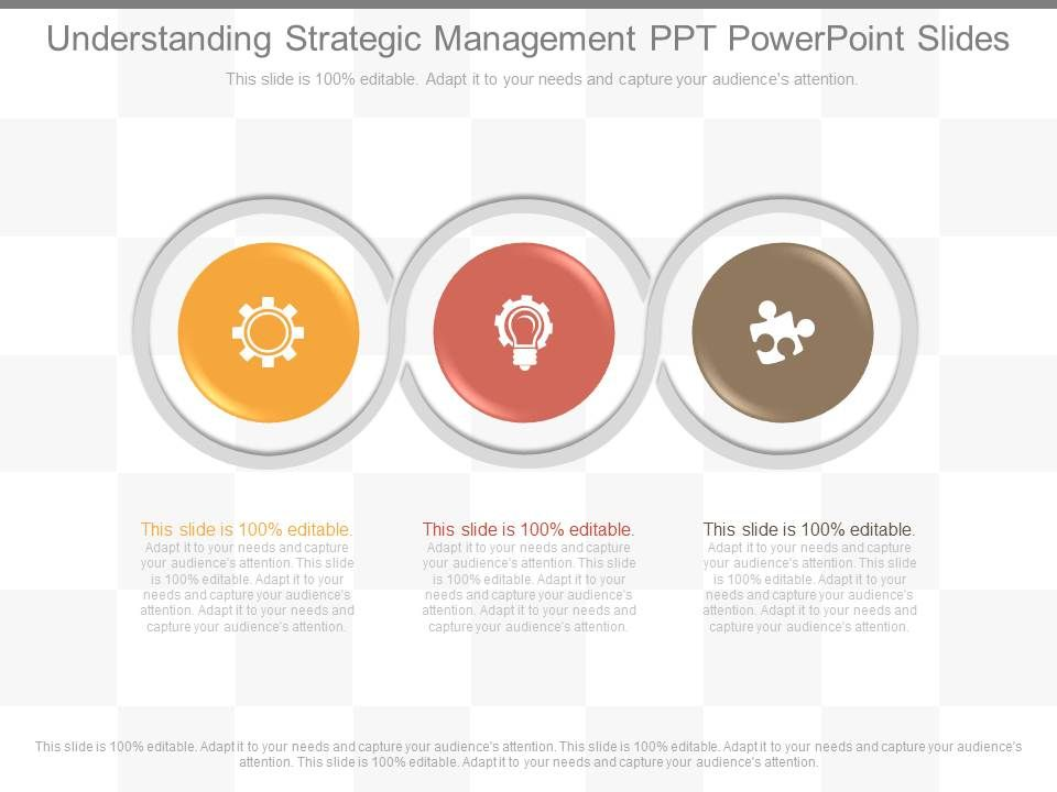 Understanding strategical management in different views