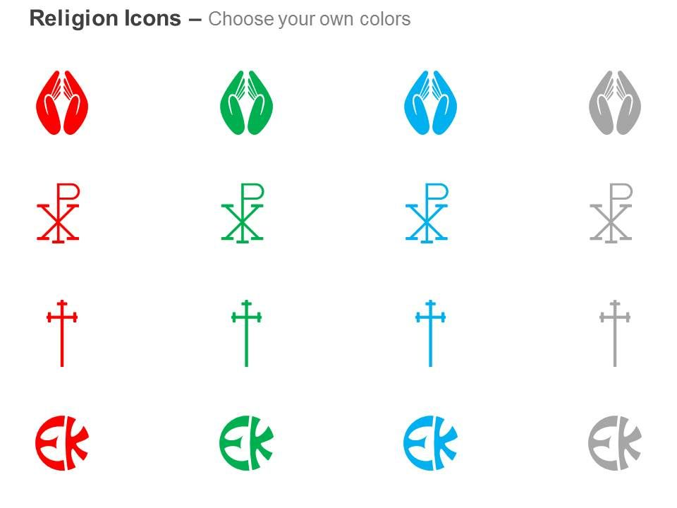 Prayer Room Symbol Chi Ro Church Ppt Icons Graphics Presentation