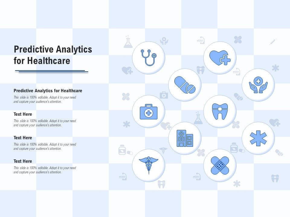Predictive Analytics For Healthcare Ppt Powerpoint Presentation Model Information
