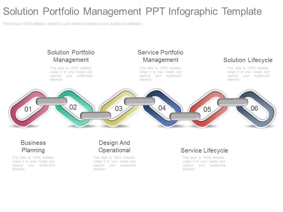 Present Solution Portfolio Management Ppt Infographic