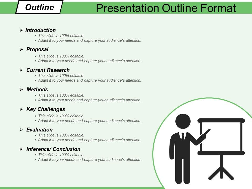 presentation outline format ppt infographic template powerpoint