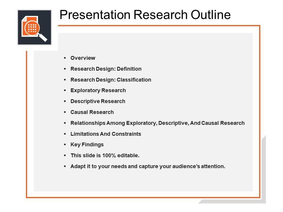 presentation research outline powerpoint topics