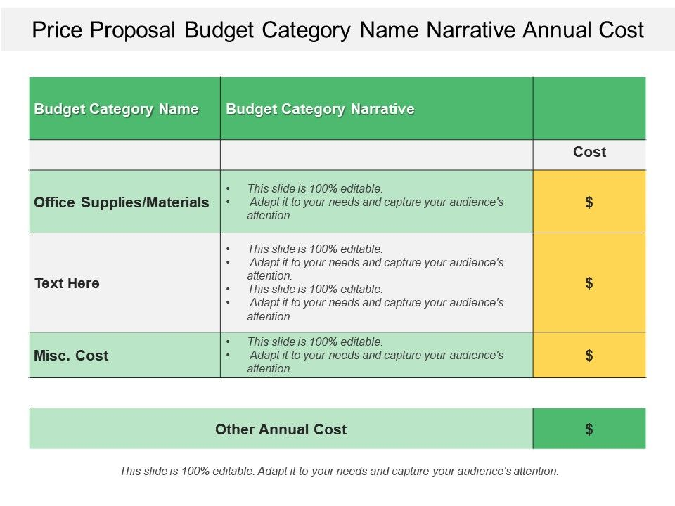 price_proposal_budget_category_name_narrative_annual_cost_Slide01