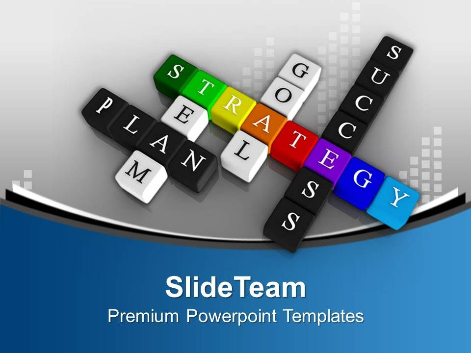 hr ppt templates free download - principles of success in crossword powerpoint templates