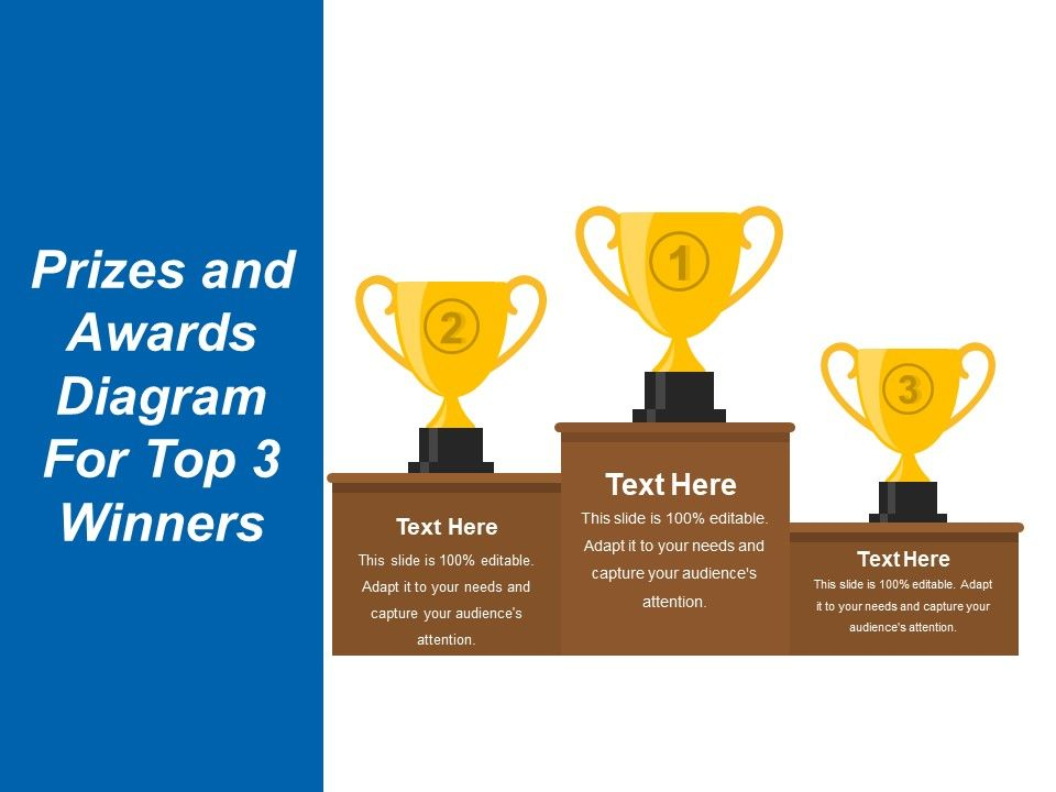 prizes_and_awards_diagram_for_top_3_winners_presentation_images_sample_ppt_files_Slide01