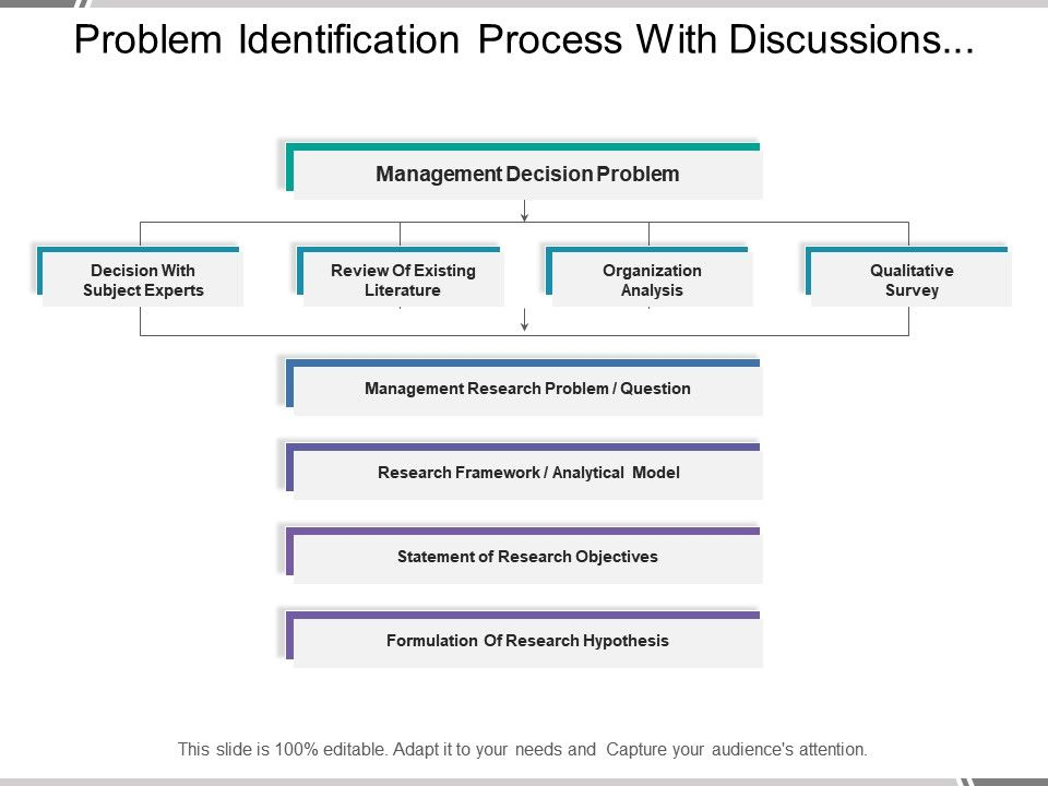 identify and explain the steps in the problem-solving process