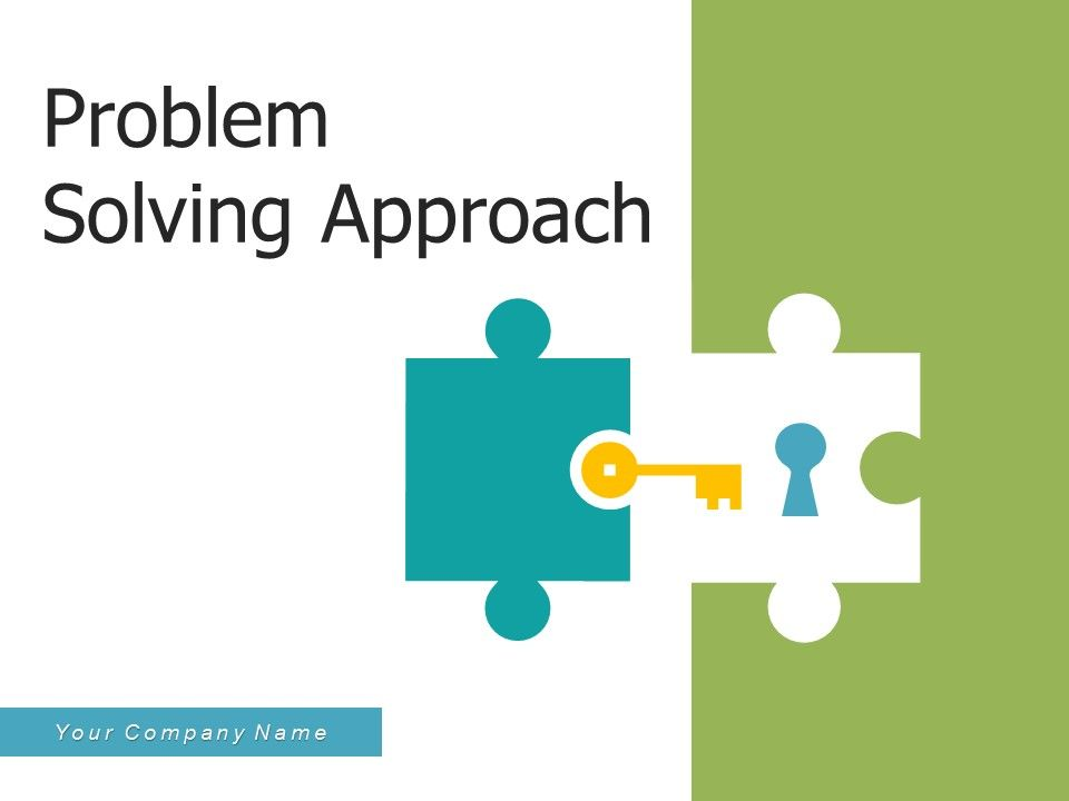 Problem Solving Approach Business Organizational Analysis Assessment Systems
