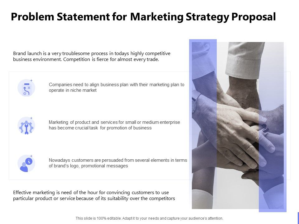 Problem Statement For Marketing Strategy Proposal Ppt Powerpoint Presentation Powerpoint Presentation Designs Slide Ppt Graphics Presentation Template Designs