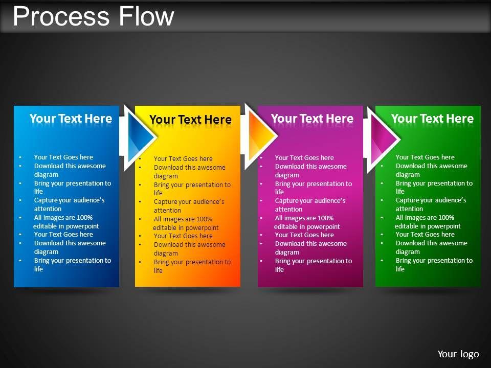 process flow powerpoint presentation slides powerpoint. Black Bedroom Furniture Sets. Home Design Ideas