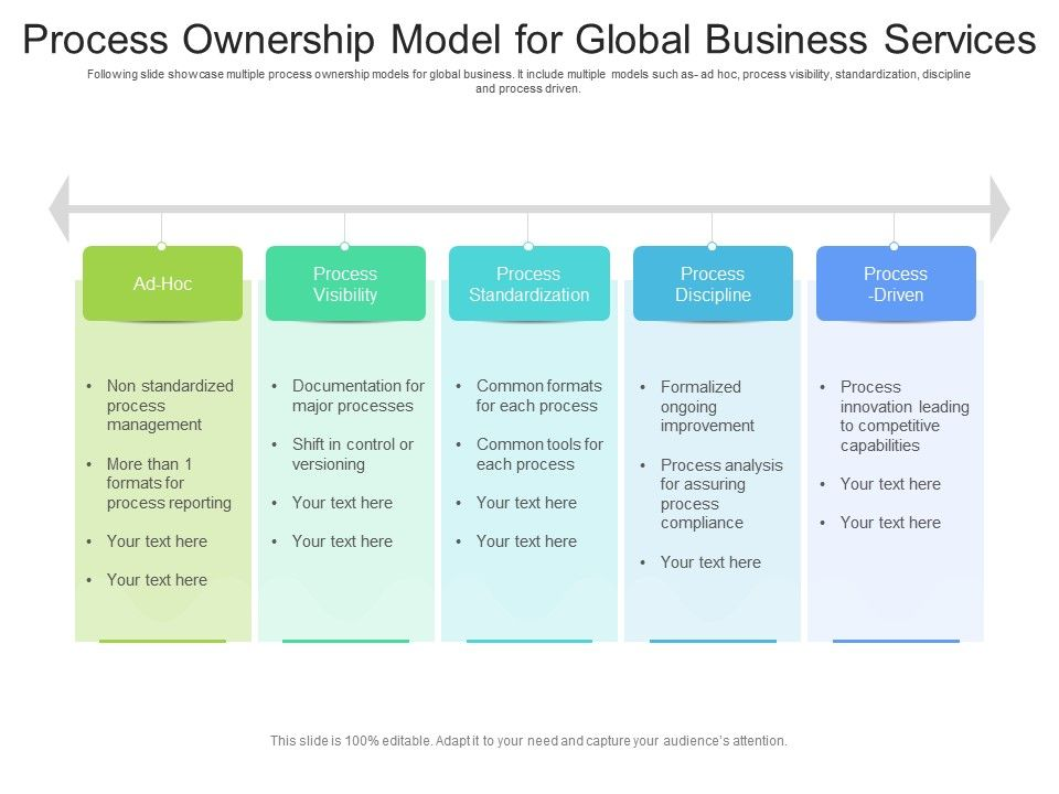 Process Ownership Model For Global Business Services