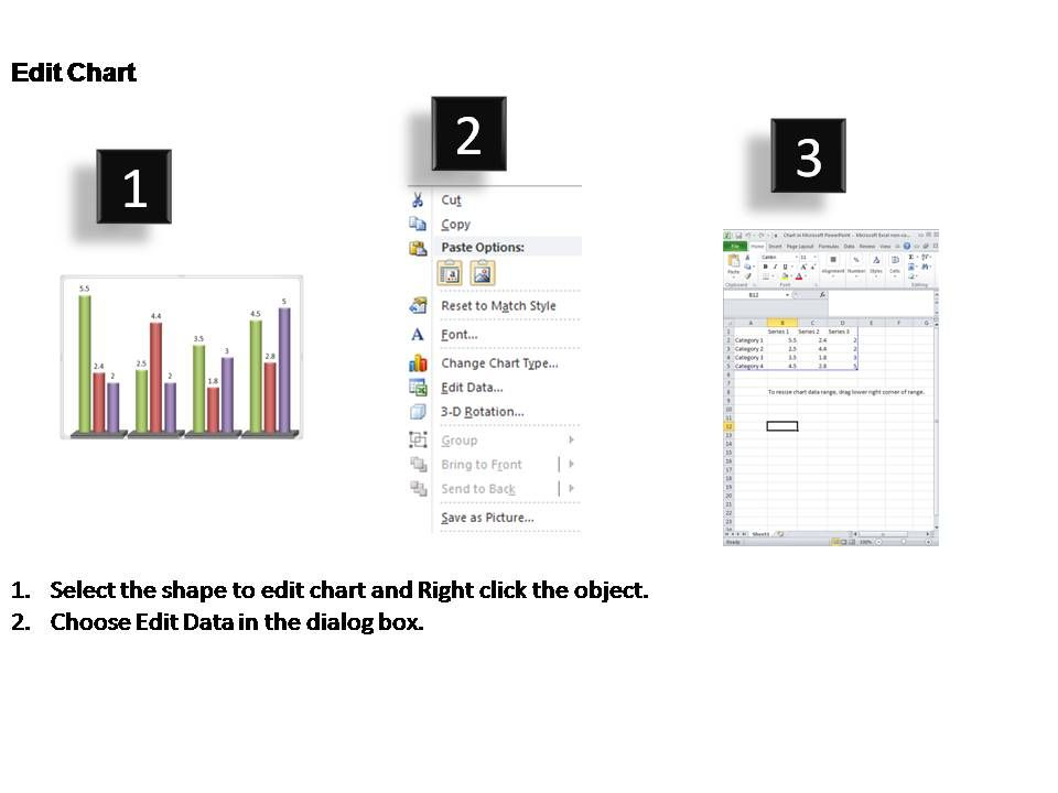 product comparisons over time data driven powerpoint templates