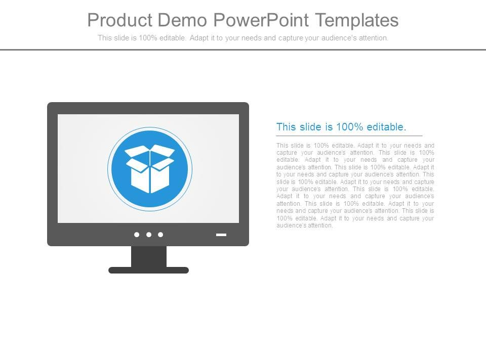 Product Demo Powerpoint Templates   Presentation PowerPoint Images ...