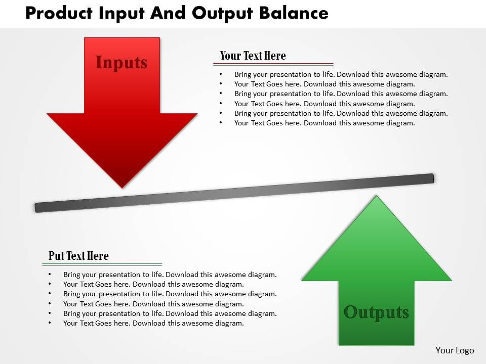 product_input_and_output_balance_powerpoint_template_Slide01