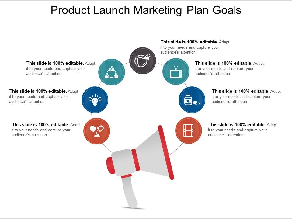 product launch marketing plan goals ppt examples slides powerpoint