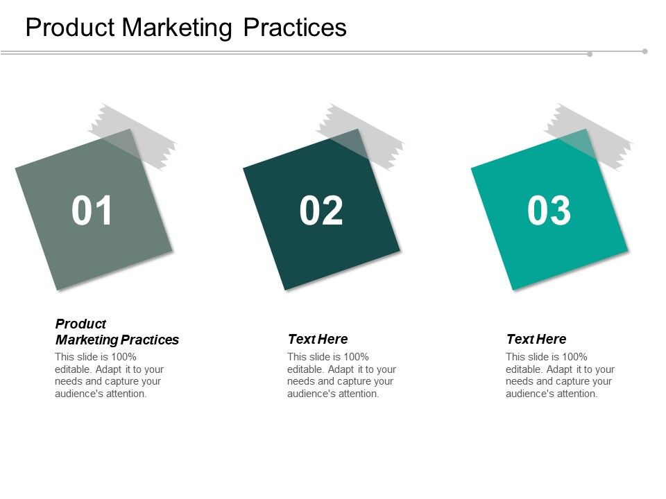 Product Marketing Practices Ppt Powerpoint Presentation