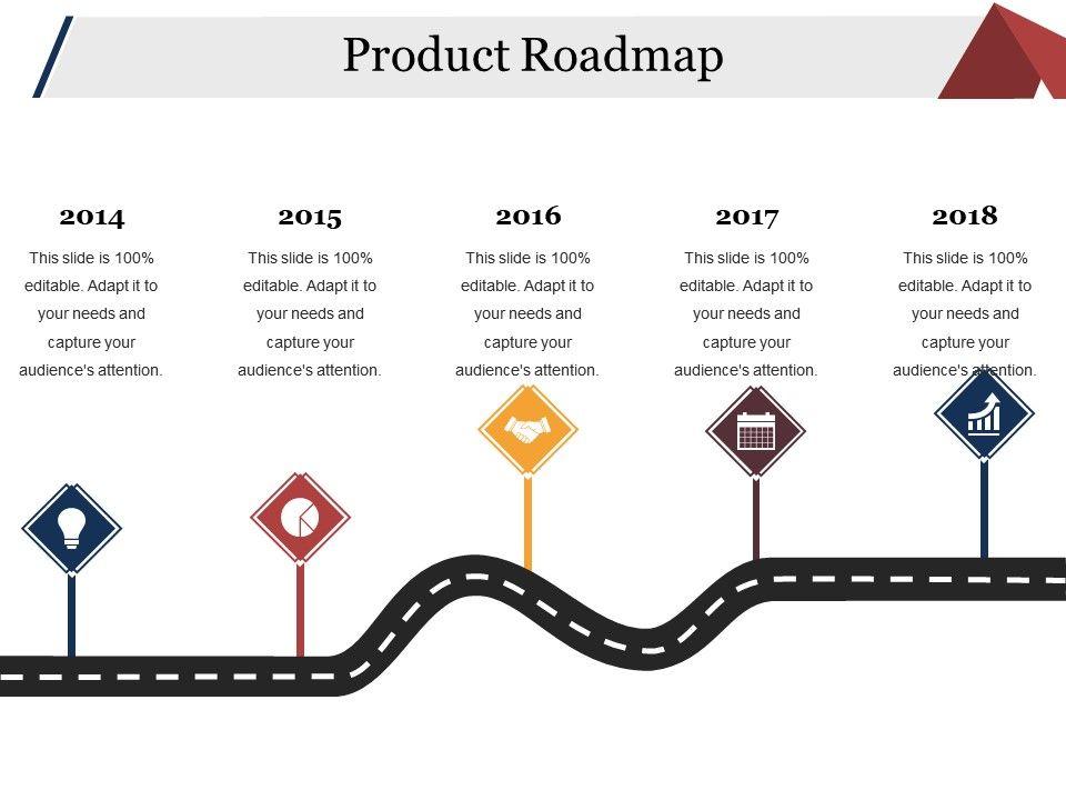 product roadmap presentation outline powerpoint slide templates