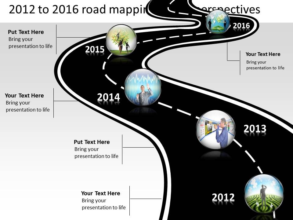 Product roadmap timeline 2012 to 2016 road mapping future productroadmaptimeline2012to2016roadmappingfutureperspectivespowerpointtemplatesslidesslide01 toneelgroepblik Gallery