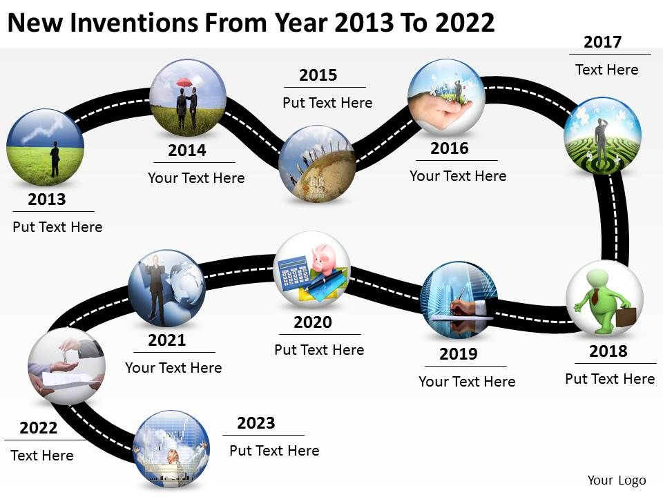 product_roadmap_timeline_new_inventions_from_year_2013_to_2022_powerpoint_templates_slides_Slide01