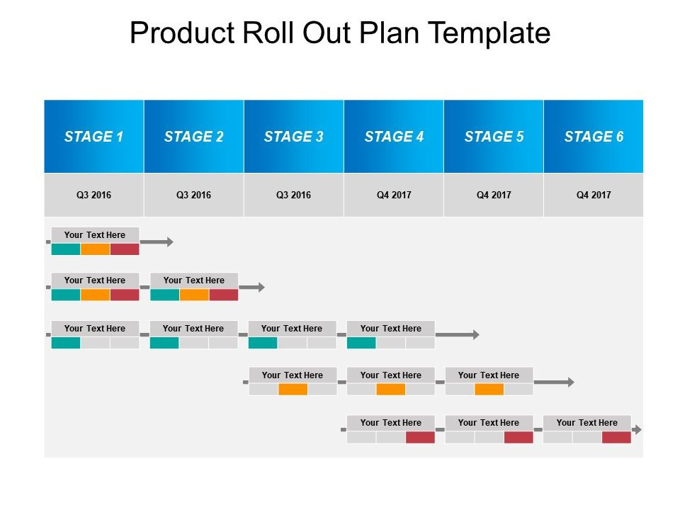 Product Roll Out Plan Template Good Ppt Example | Template