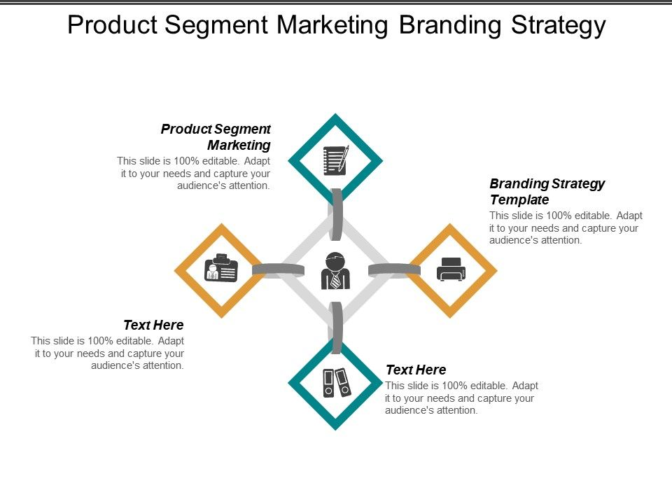 Product Segment Marketing Branding Strategy Template Performance