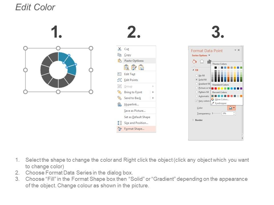 Progress Bar Chart Example Of Ppt | PowerPoint Shapes