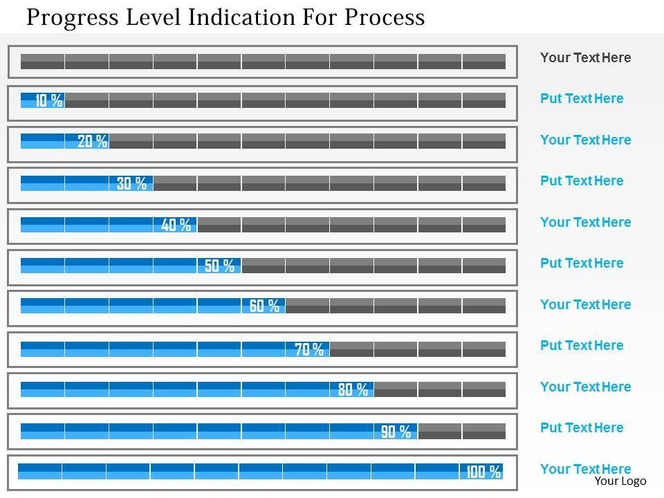 progress_level_indication_for_process_flat_powerpoint_design_Slide01