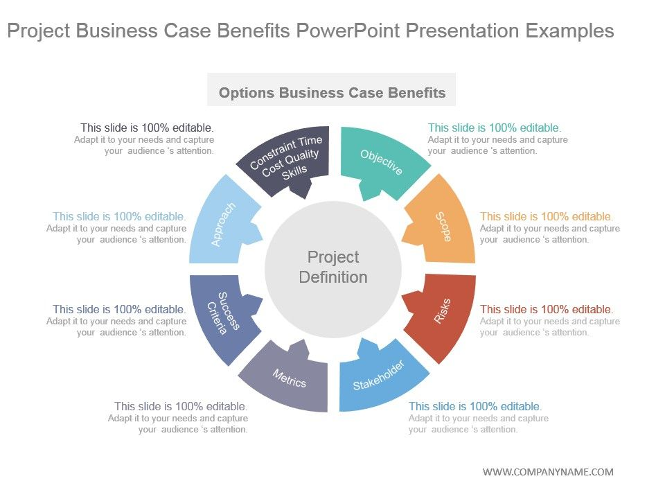 Project Business Case Benefits Powerpoint Presentation Examples
