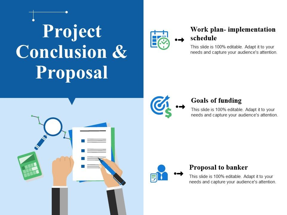 Project Conclusion And Proposal Ppt Example Powerpoint