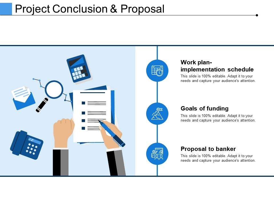 project conclusion and proposal ppt presentation examples