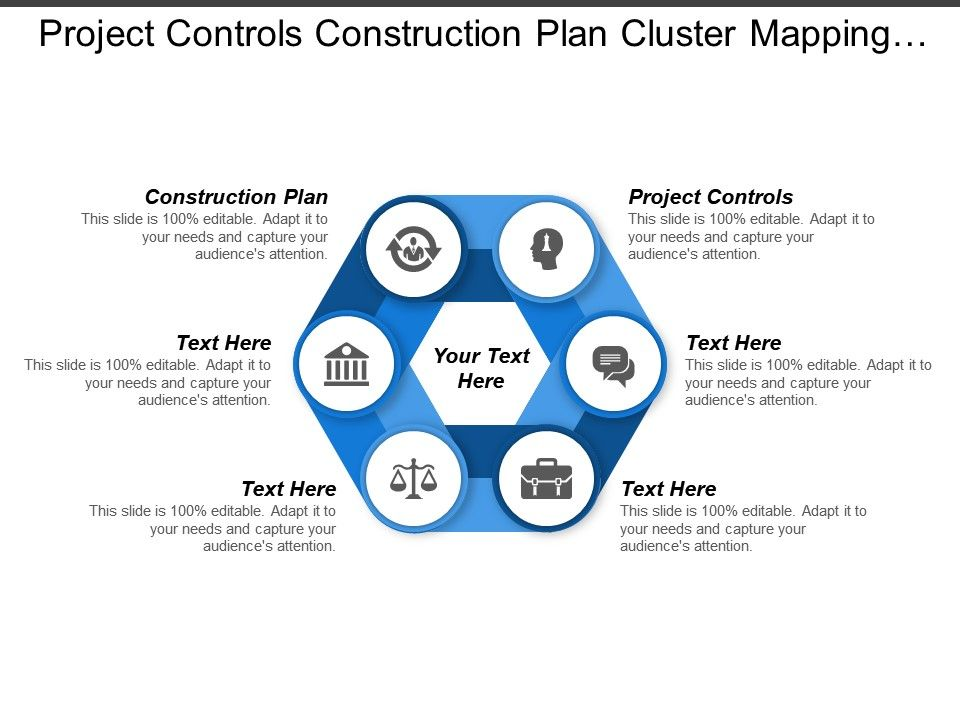 Project Controls Construction Plan Cluster Mapping Cluster ...
