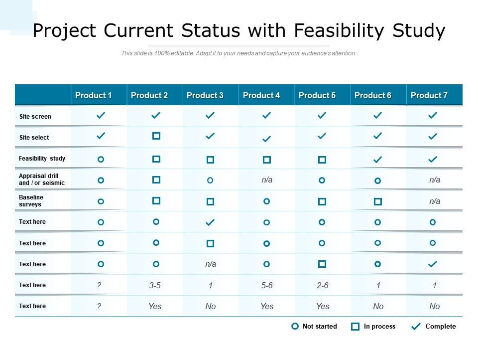 Project Current Status With Feasibility Study