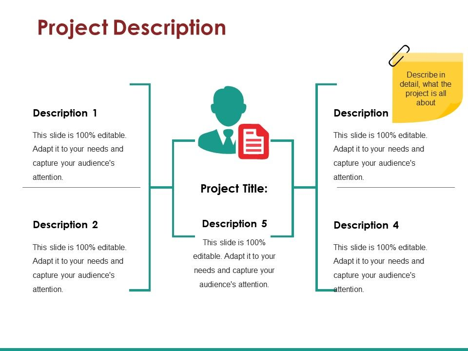 Project Description Ppt Templates Presentation Powerpoint