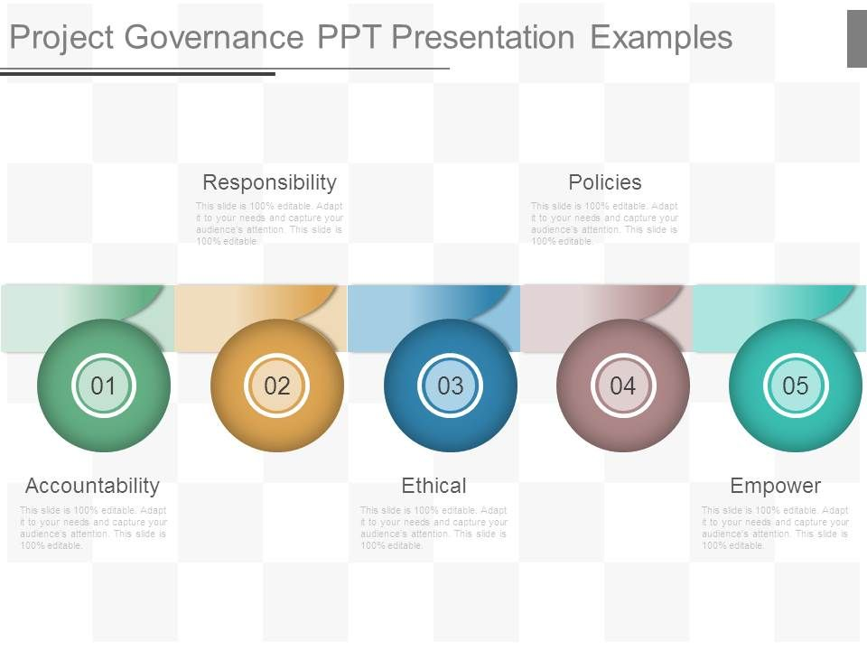 Infographic Ideas infographic examples powerpoint : Award Winning Strategy Presentation showing Project Governance Ppt