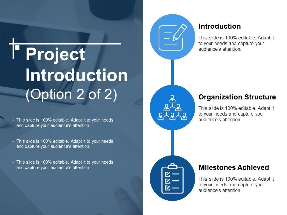 Project Introduction Ppt Slide Template | PowerPoint Slide Template