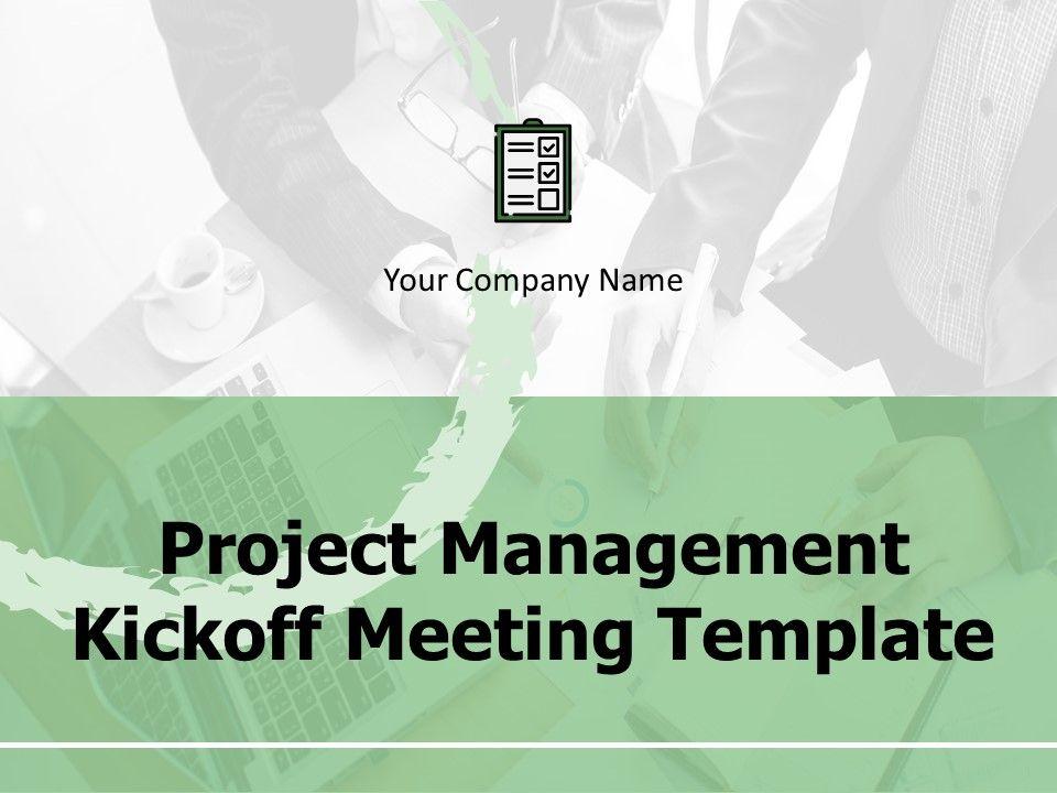 Kick Off Meeting Agenda Template Ppt Kickoff Meeting